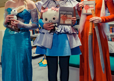 Cosplayvinnerne Animanga 2015. Foto: Birgit Fostervold
