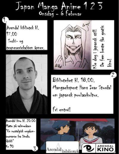 Japan Manga Anime 123 plakat
